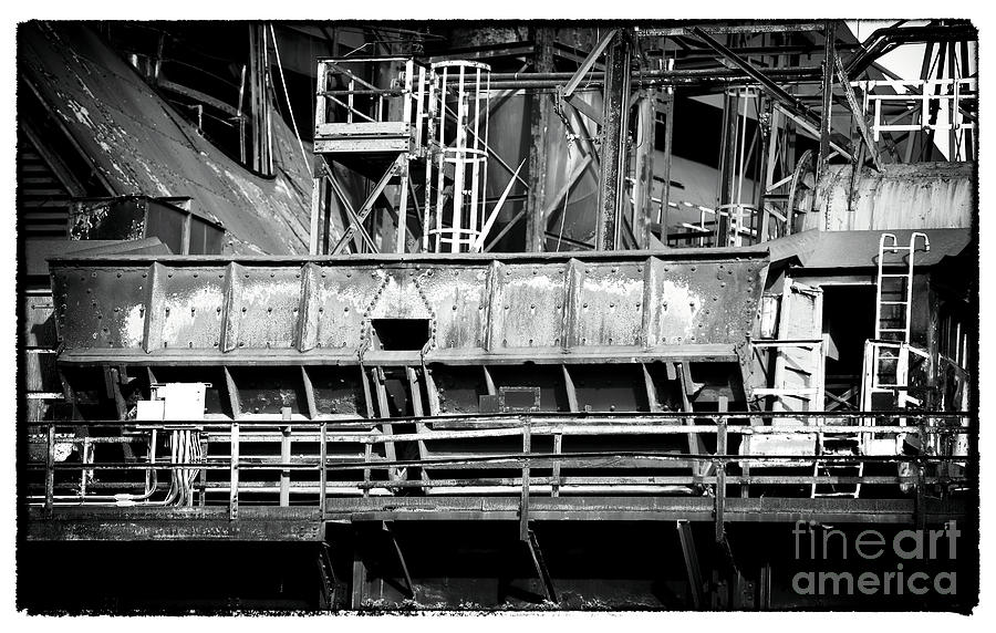 Abandoned Photograph - Steel Work by John Rizzuto