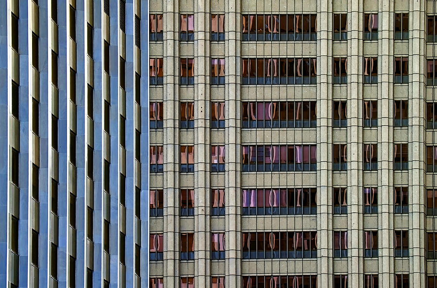 Geometry Photograph - Steelness Of Geometry by Joanna Madloch