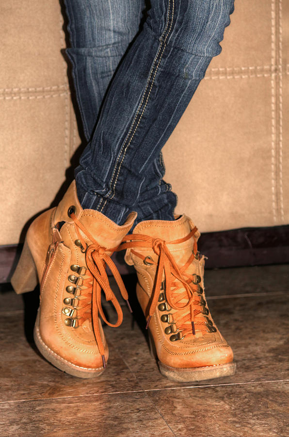 Feet Photograph - Steeping Out In Style by Ester  Rogers