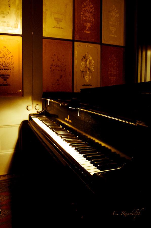 1903 Vintage Steinway Piano Photograph - Steinway by Cheri Randolph