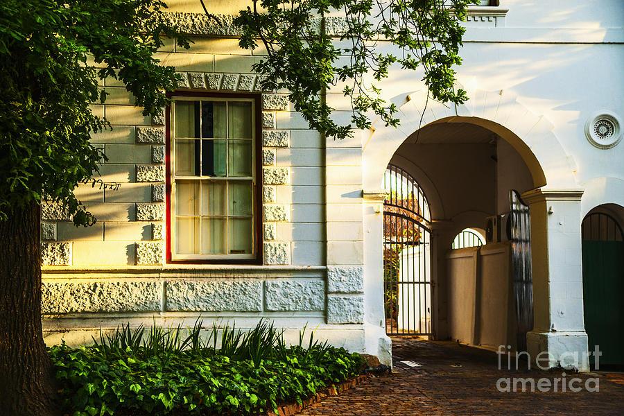 South Africa Photograph - Stellenbosch Gate by Rick Bragan