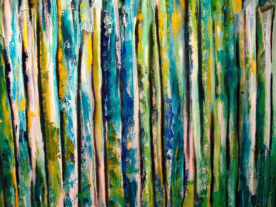 Abstract Painting - Stems by Frank B Shaner