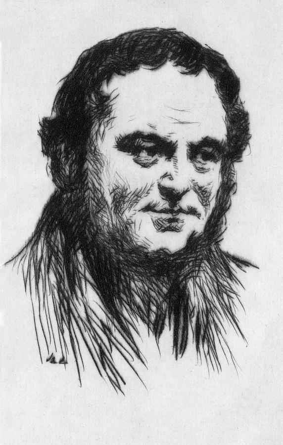 Stendhal Drawing - Stendhal (1783 - 1842) (real Name by Mary Evans Picture Library