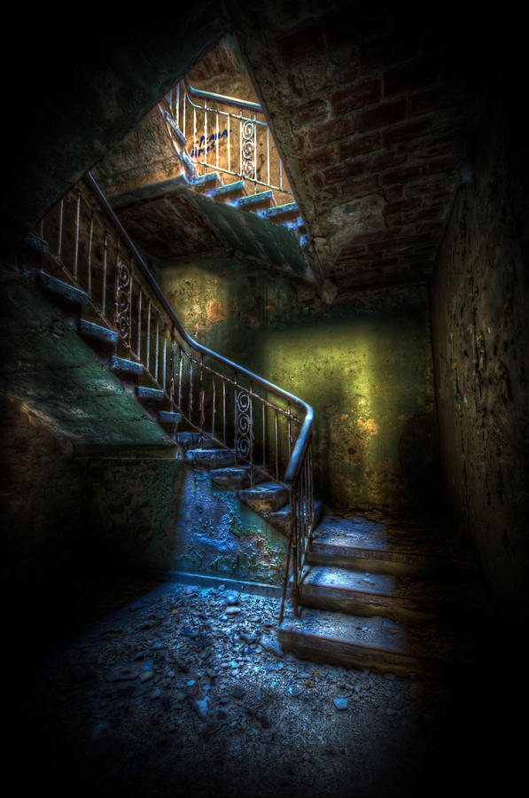 Horror Digital Art - Step Into The Light by Nathan Wright