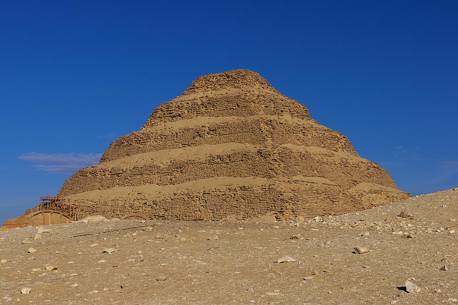 Step Pyramid Of King Djoser At Saqqara Photograph By Ivan