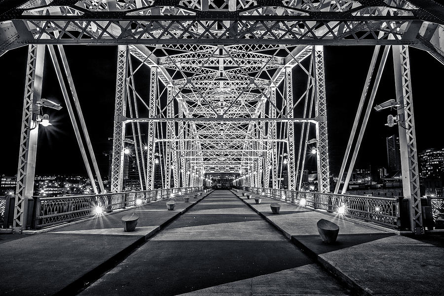 5d Mark Ii Photograph - Step Under The Steel by CJ Schmit