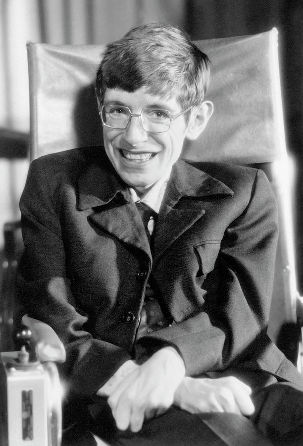 Stephen Hawking Photograph - Stephen Hawking by Emilio Segre Visual Archives/american Institute Of Physics/science Photo Library