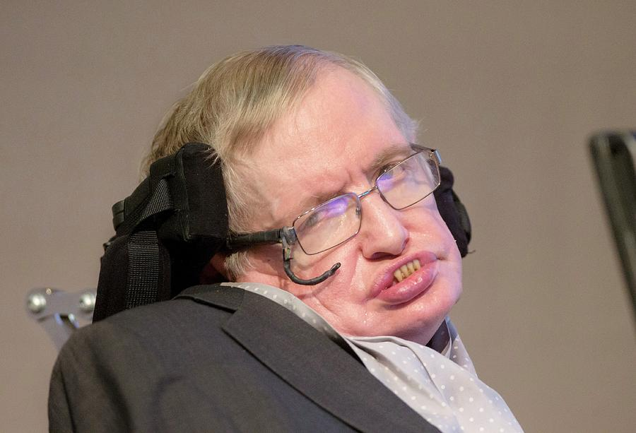 Stephen Hawking Photograph - Stephen Hawking by Mark Thomas