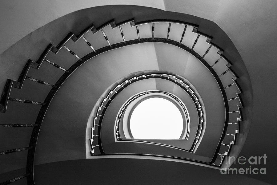 Achitecture Photograph - steppin up II by Hannes Cmarits