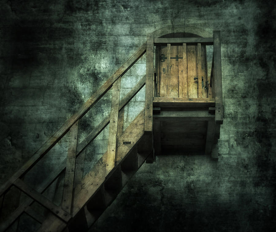 Abandoned Photograph - Stepping Into Mystery by Svetlana Sewell