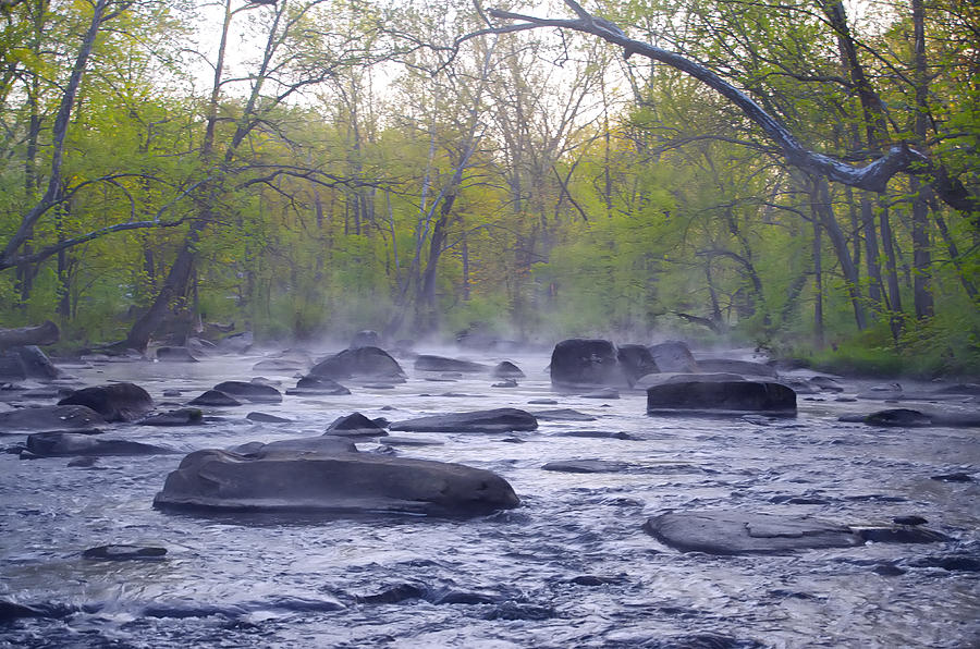 Stepping Photograph - Stepping Stones by Bill Cannon