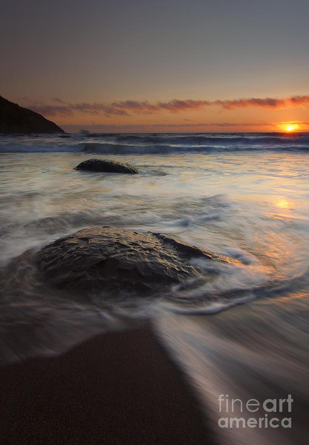 Oregon Coast Photograph - Stepping Stones by Mike  Dawson