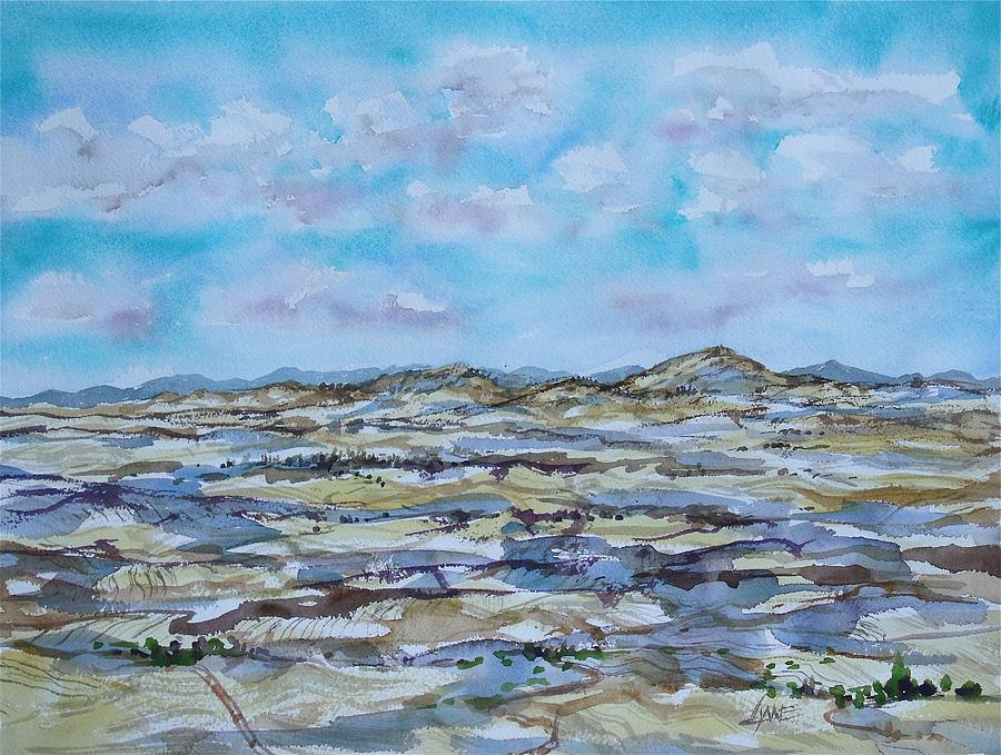 Landscape Painting - Steptoe Butte 1 by Lynne Haines