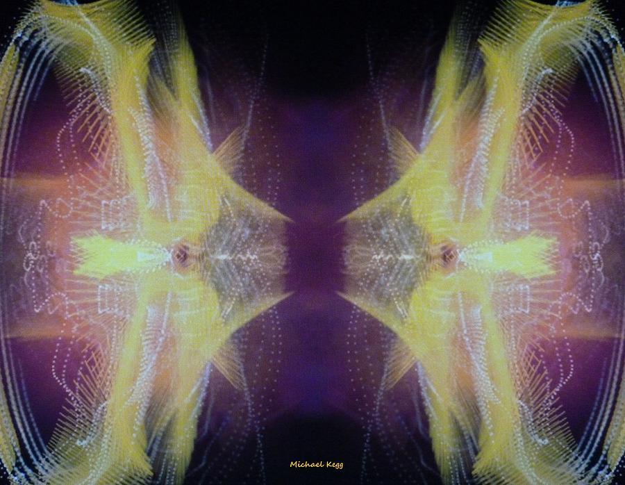 Stereoscopic Mixed Media - Stereoscopic by Michael Kegg