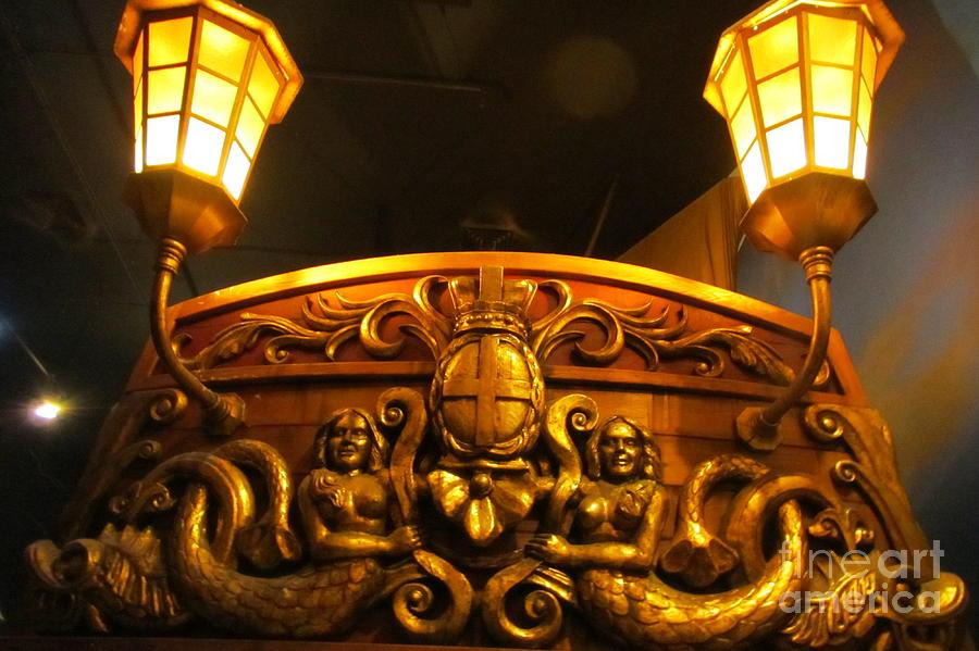 Stern Of A Pirate Ship Photograph By John Malone