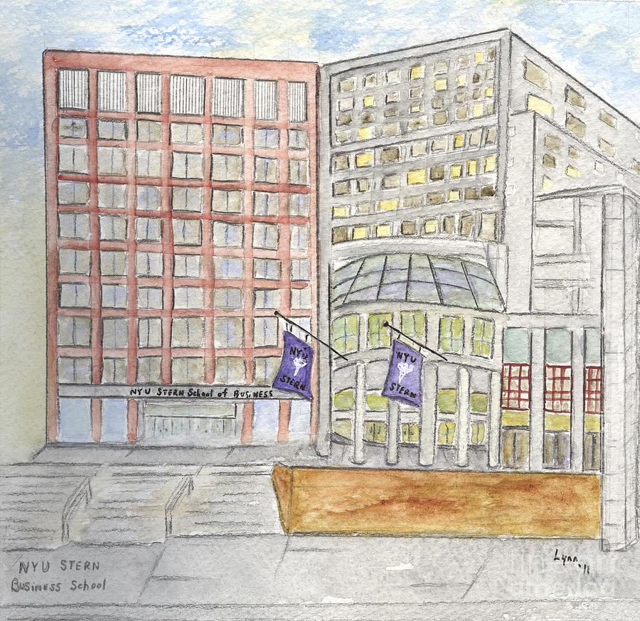 NYU Stern School of Business by AFineLyne