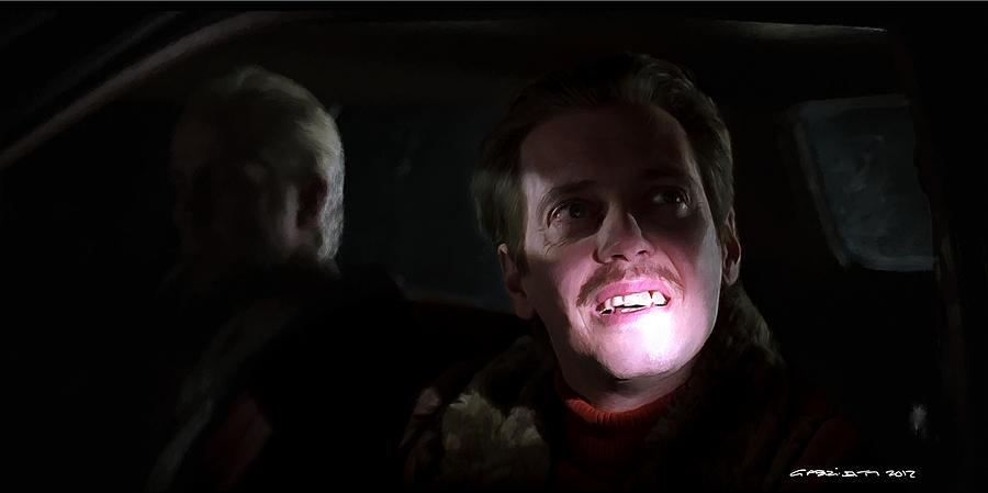 Fargo Digital Art - Steve Buscemi as Carl Showalter in the film Fargo by Joel and Ethan Coen by Gabriel T Toro