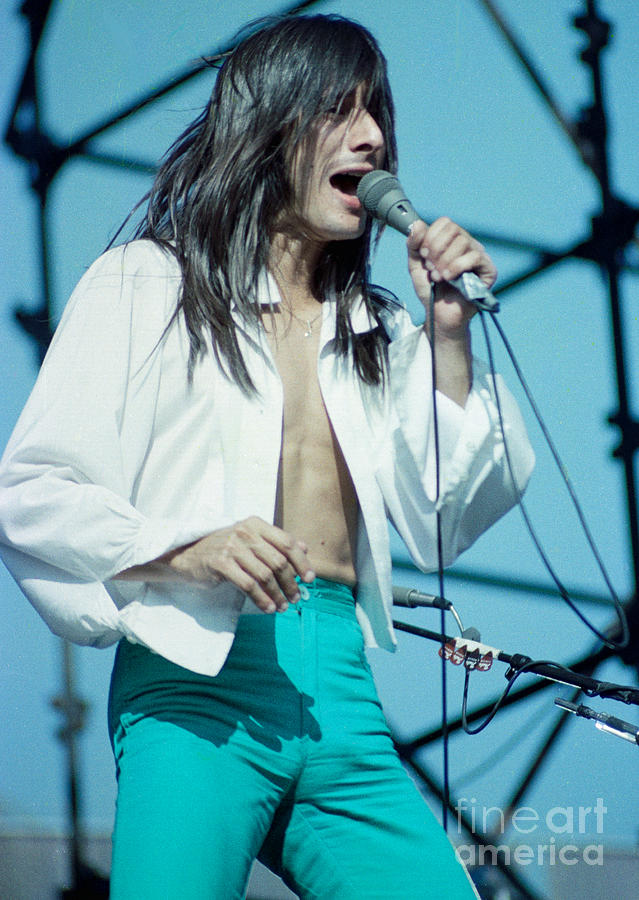 Steve Perry Photograph - Steve Perry Of Journey At Day On The Green - July 1980 by Daniel Larsen