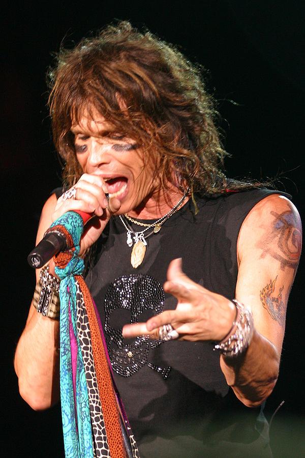 Aerosmith Photograph - Steven Tyler by Don Olea
