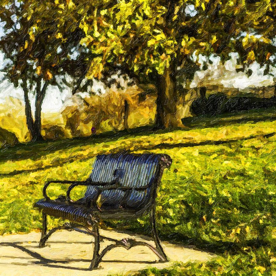 Stevens Lake Park Series 01 Photograph by David Allen Pierson