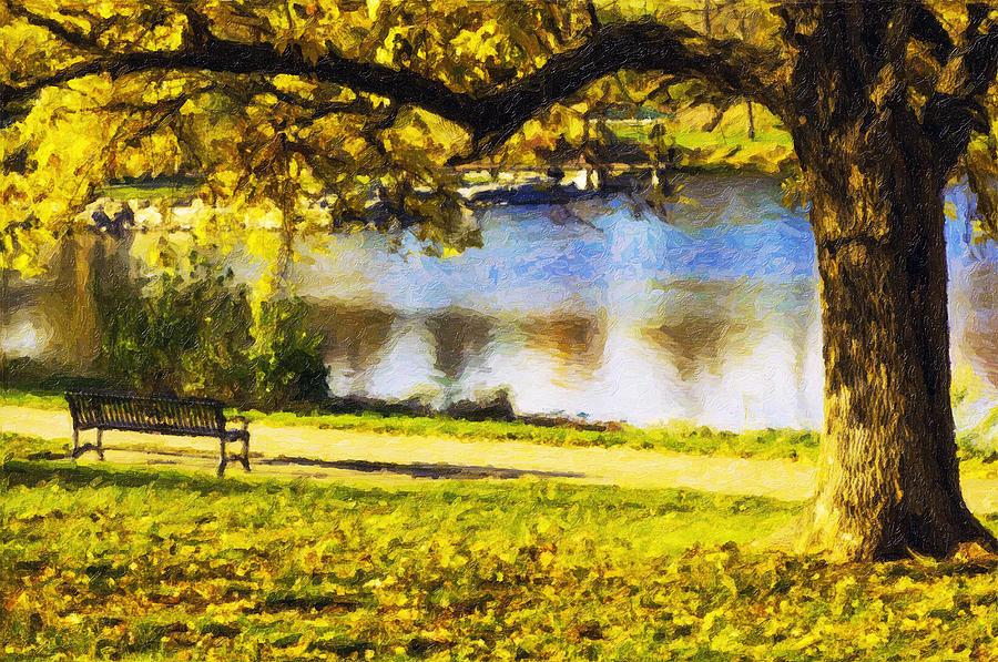 Stevens Lake Park Series 03 Photograph by David Allen Pierson