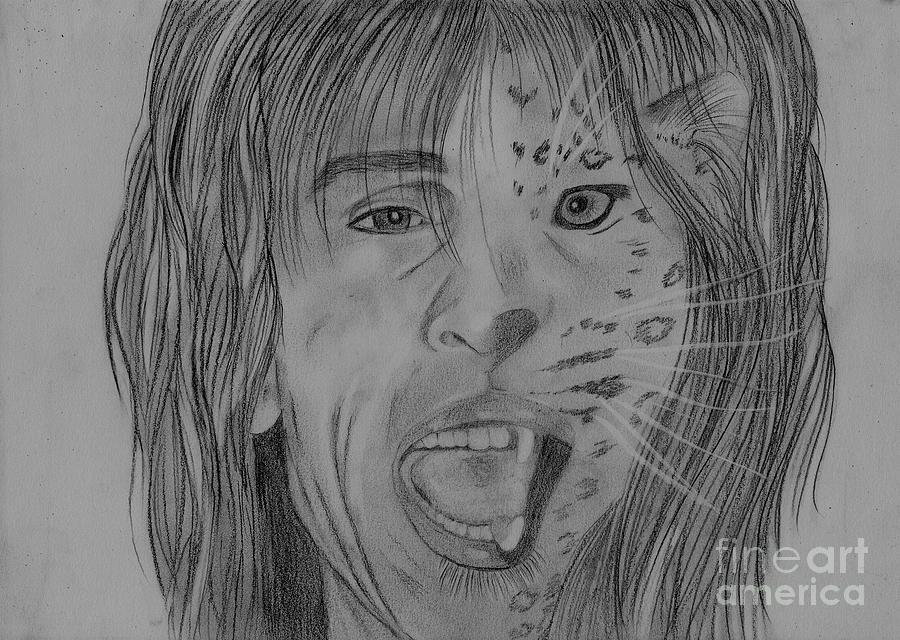 Steven Tyler Portrait Steven Tylerimage Steven Tyler Picture Aerosmith Drawing - Steventylopard by Jeepee Aero