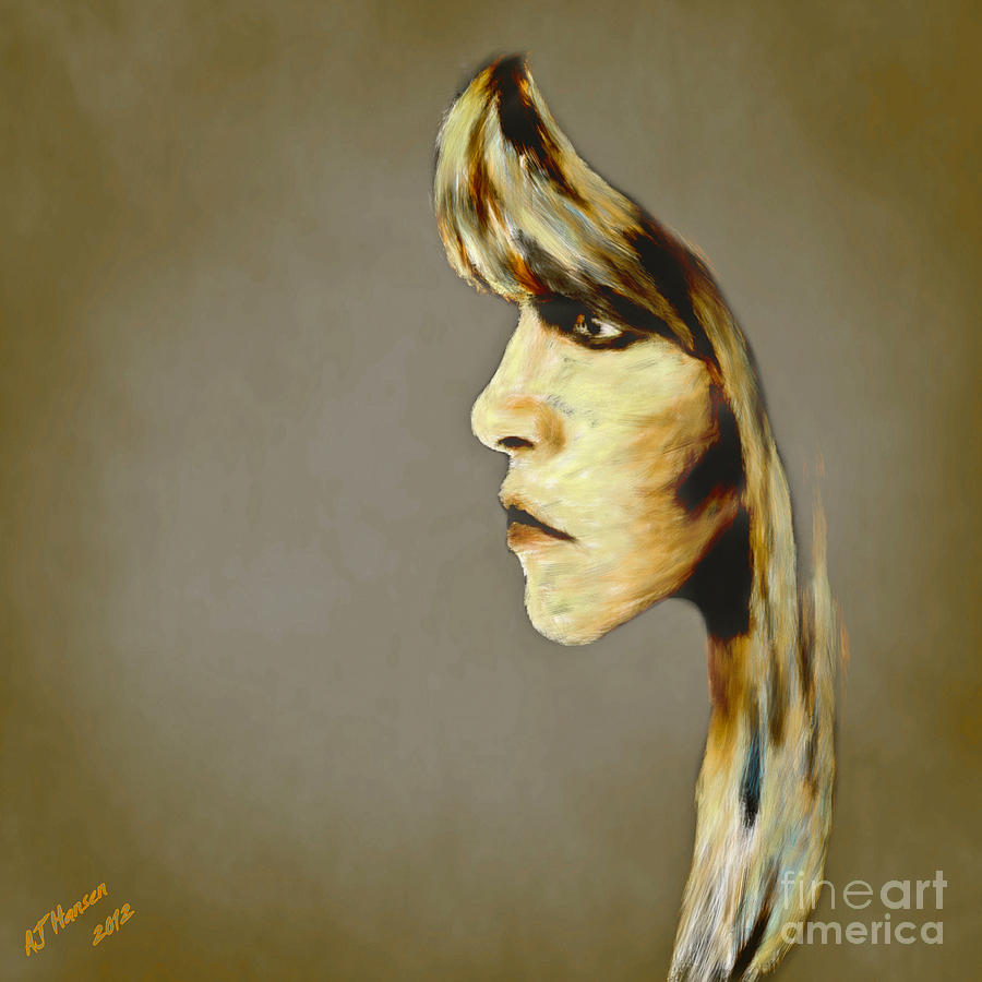 Arne J Hansen Photograph - Stevie Nicks by Arne Hansen