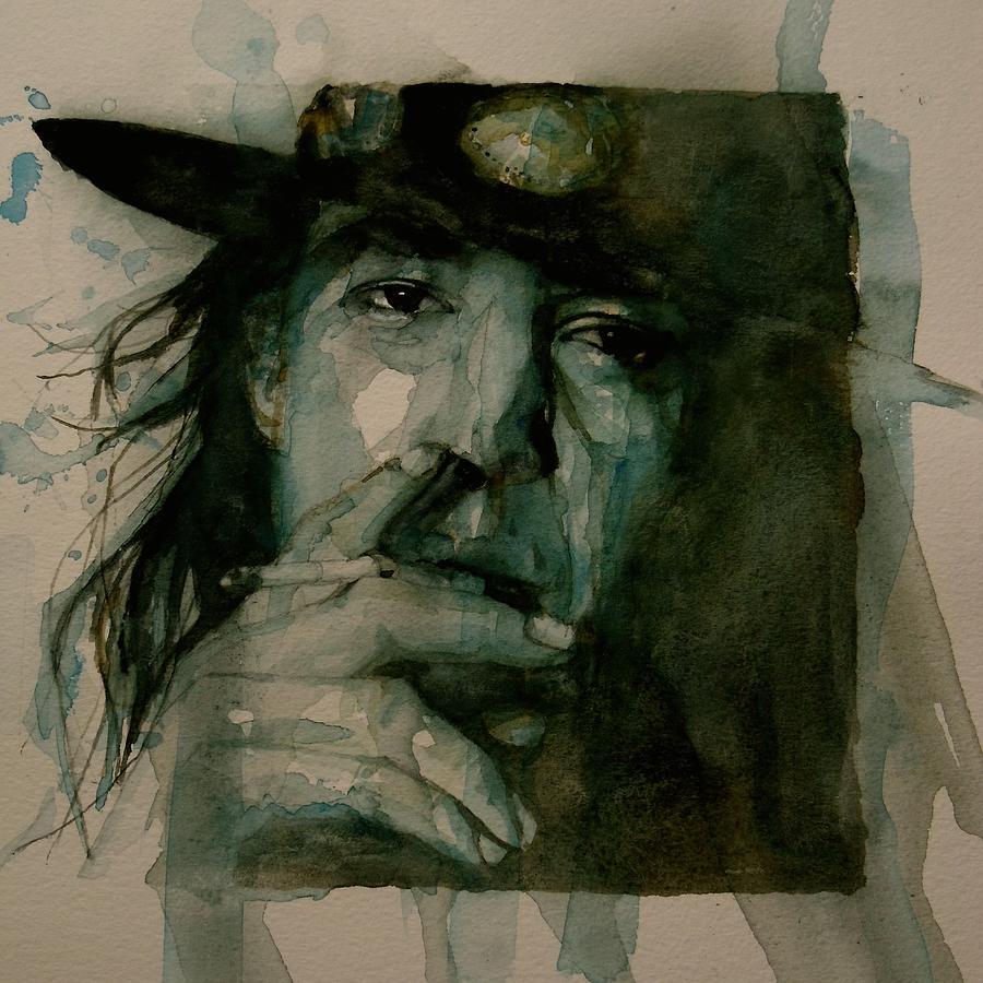 Stevie Ray Vaughan Painting - Stevie Ray Vaughan by Paul Lovering