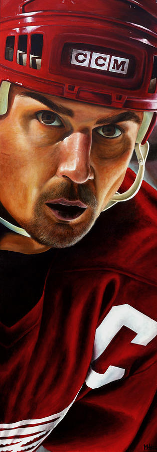 Sports Painting - Stevie Y by Marlon Huynh