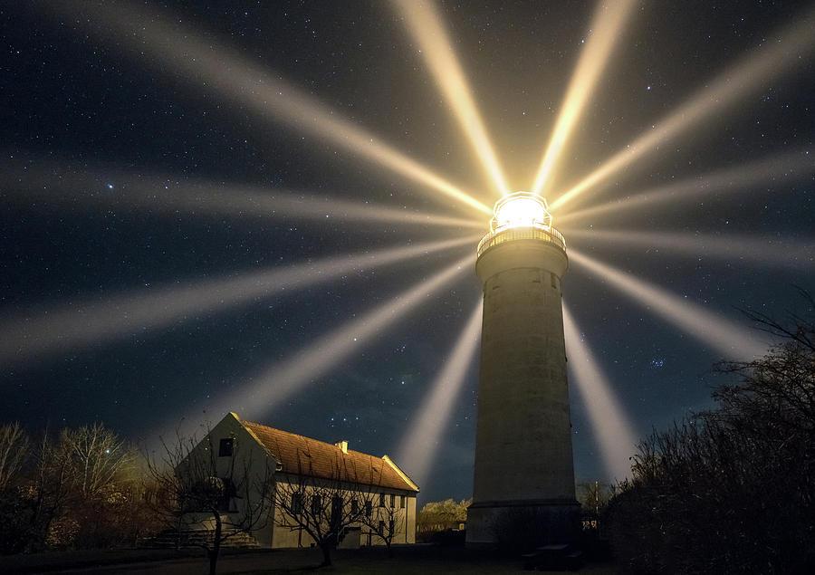 Denmark Photograph - Stevns Lighthouse by Keller