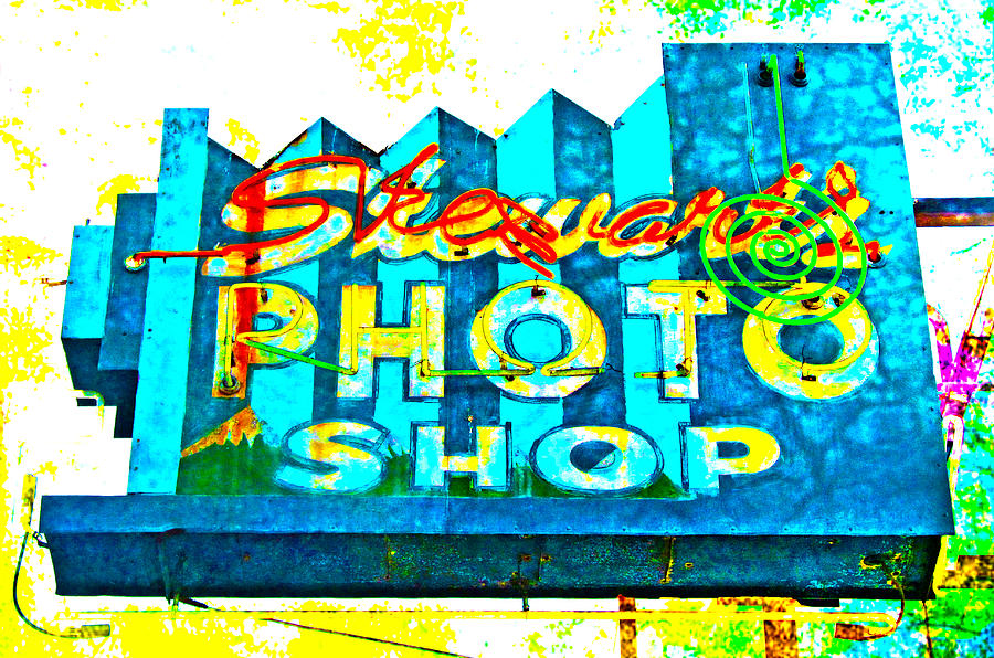 Stewarts Photo Shop Photograph by Gail Lawnicki