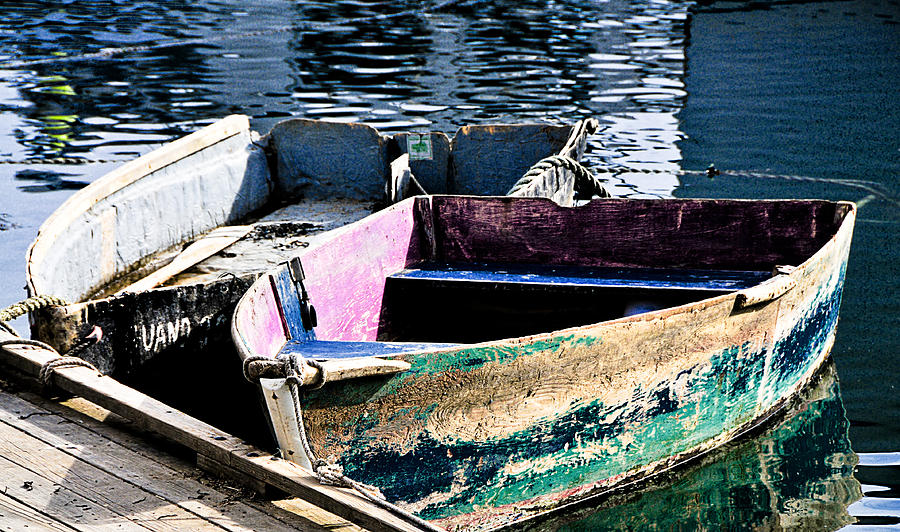 Seascape Photograph - Still Afloat by Mike Martin