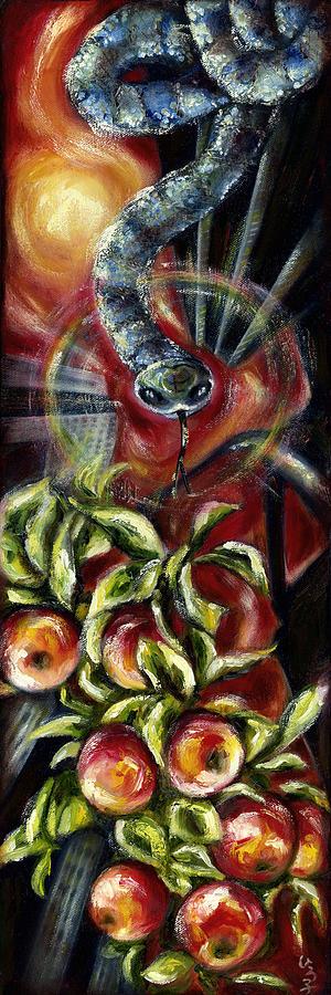 Snake Painting - Still... by Hiroko Sakai