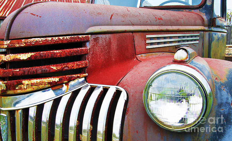 Chevy Photograph - Still Holding Together by John Debar