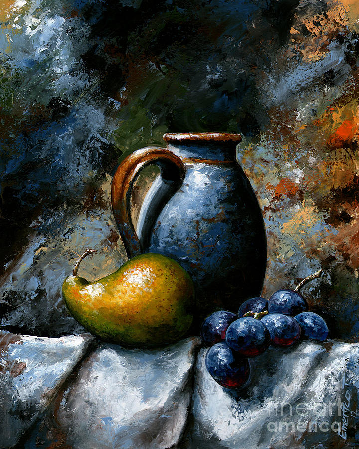 Still life 24 Painting by Emerico Imre Toth