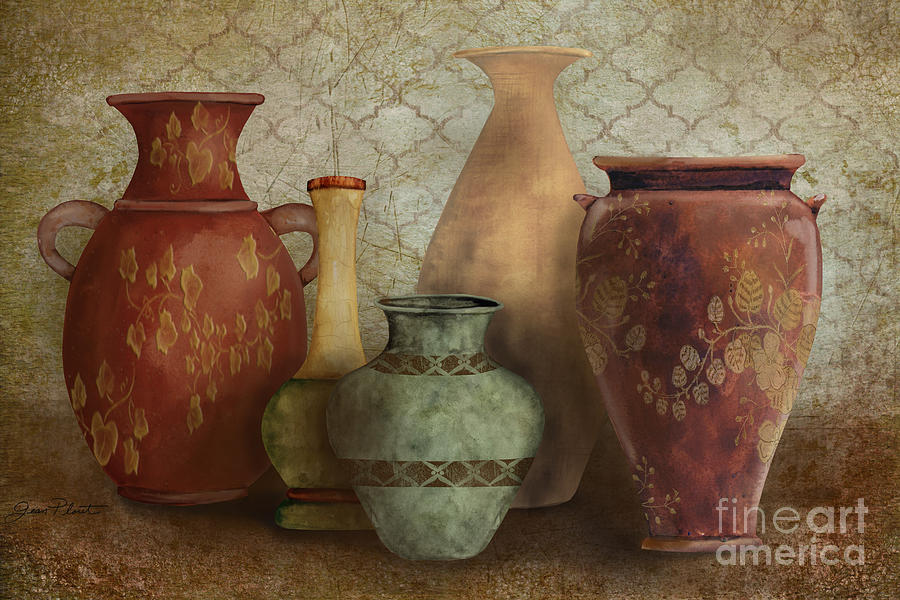 Original Painting Painting - Still Life-a by Jean Plout