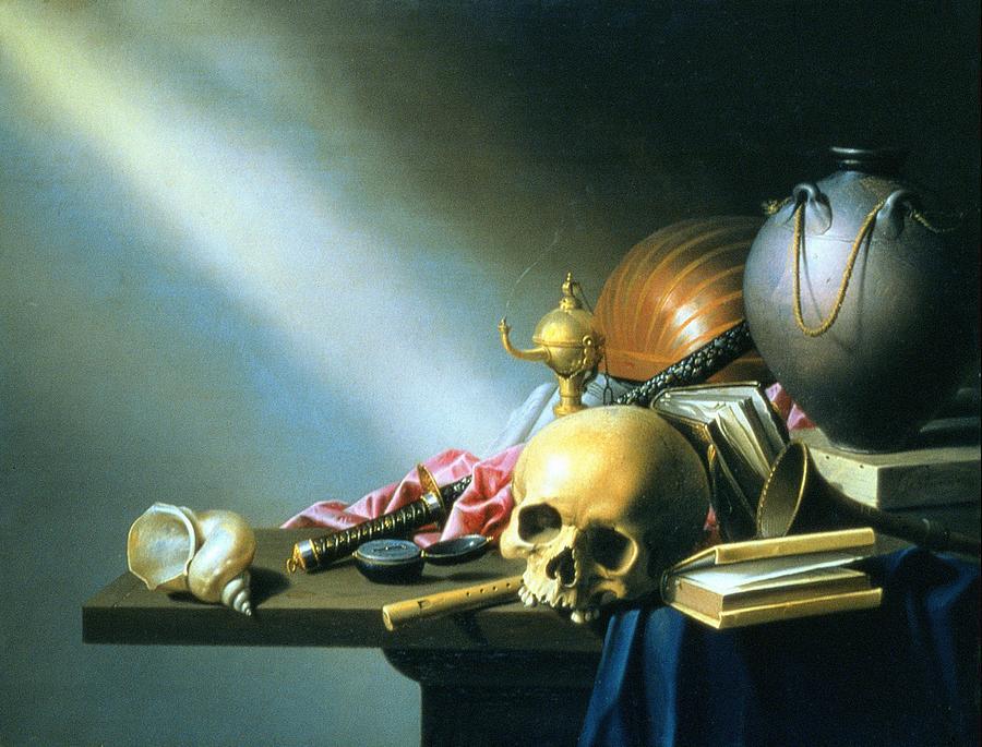 Vanitas Painting - Still Life An Allegory Of The Vanities Of Human Life by Harmen van Steenwyck