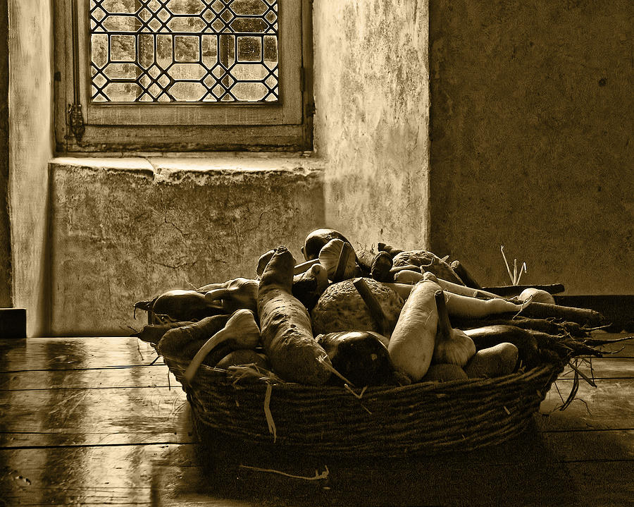 Vegetables Photograph - Still Life At Chenonceau by Nikolyn McDonald