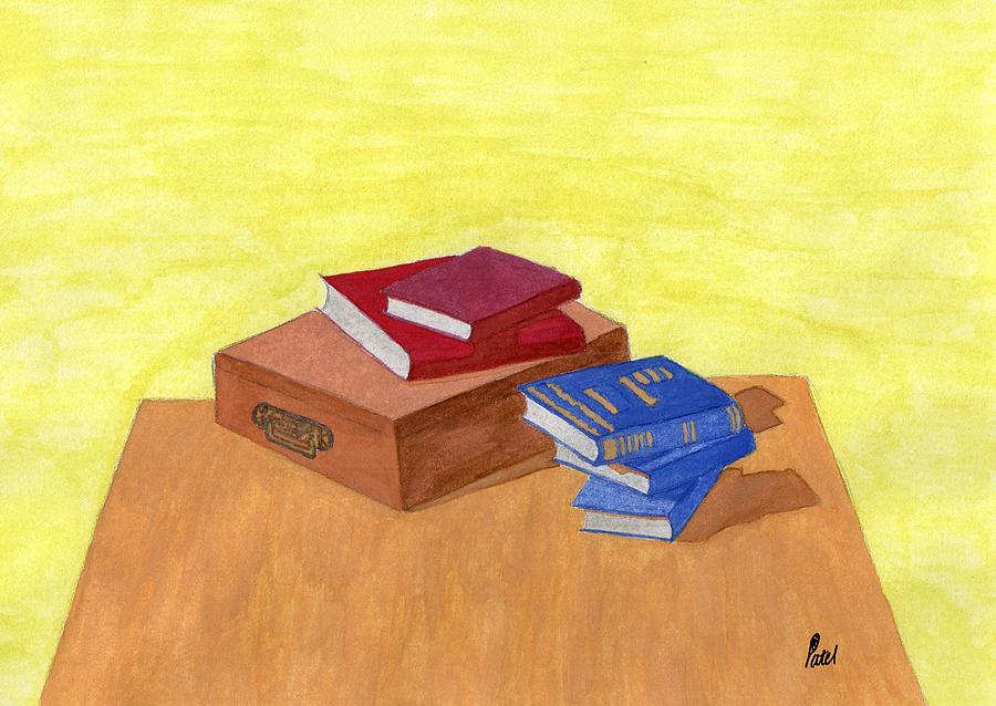 Still Life Painting - Still Life - Books by Bav Patel