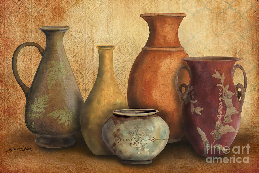 Jean Plout Painting - Still Life-c by Jean Plout