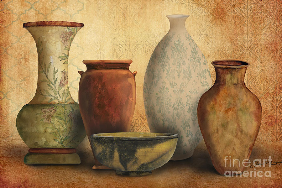 Original Painting Painting - Still Life-d by Jean Plout