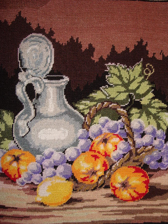 Nature Tapestry - Textile - Still Life by Eugen Mihalascu