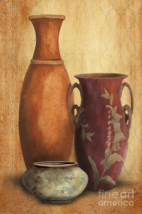 Still Life H Painting By Jean Plout