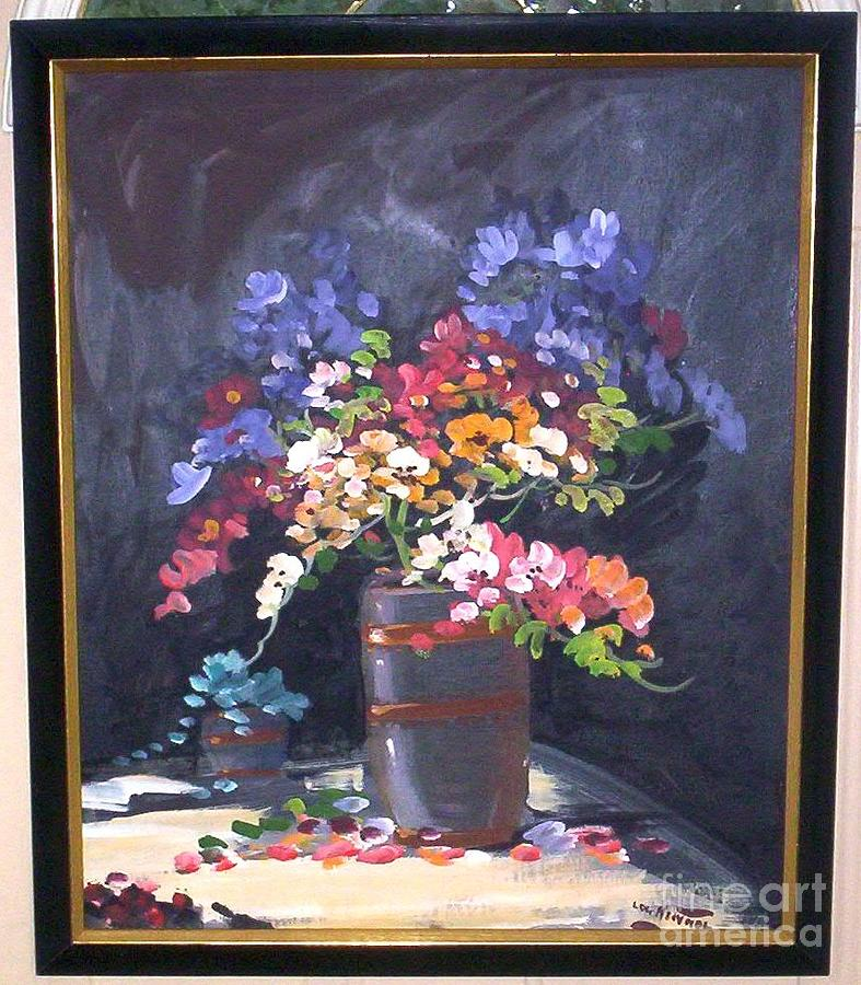 Still Life Painting - Still Life by Lou Kennel
