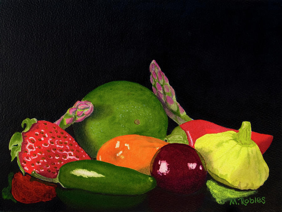 Still Life Painting - Still Life No. 3 by Mike Robles