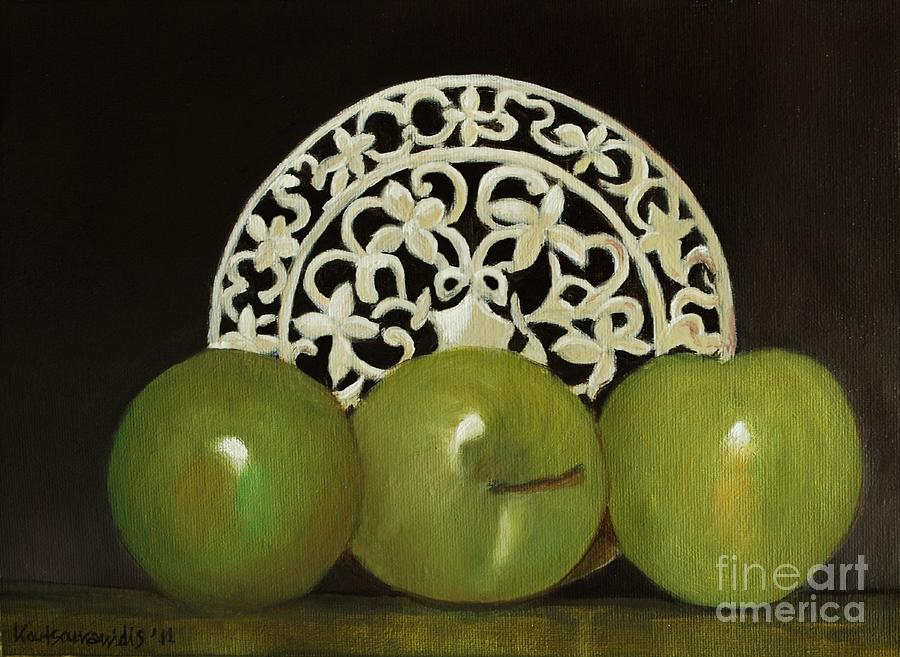 Still Life Painting - Still Life No-7 by Kostas Koutsoukanidis