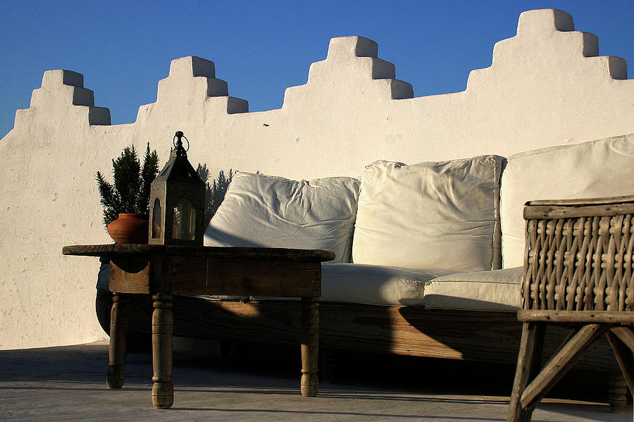 Still Photograph - Still Life On A Roof Terrace Old Medina Tangier Morocco by PIXELS  XPOSED Ralph A Ledergerber Photography
