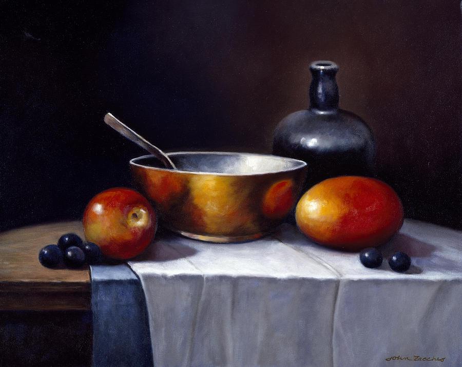 Pallet Painting - Still Life Rhapsody by John Zaccheo