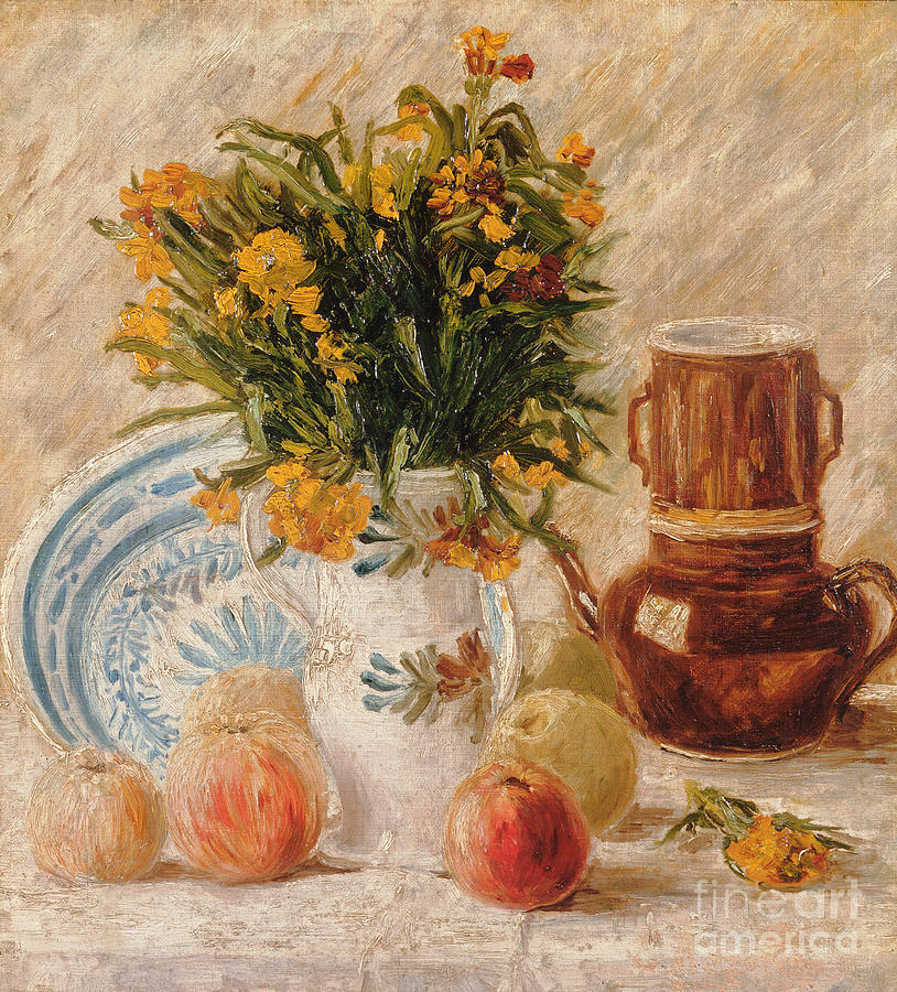 1887 Painting - Still Life by Vincent van Gogh
