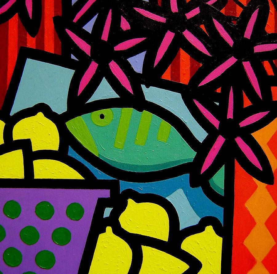 Fish Painting - Still Life With Fish by John  Nolan